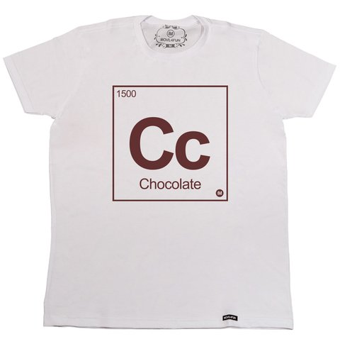Camiseta Chocolate na internet