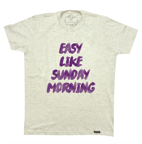 Camiseta Easy like sunday morning - comprar online