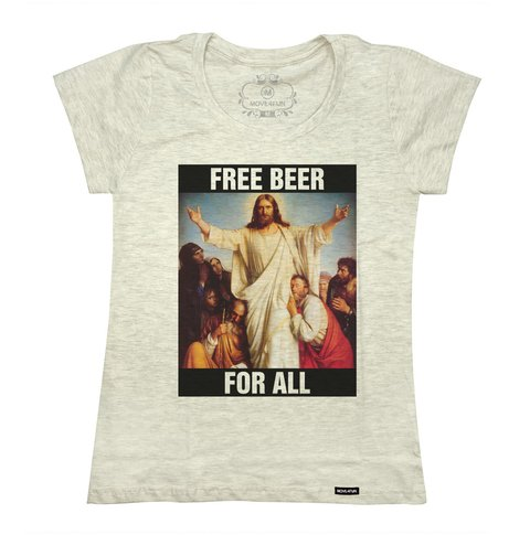 Imagem do Camiseta Free beer for all