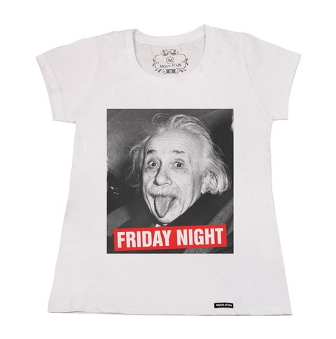 Camiseta Friday night - loja online