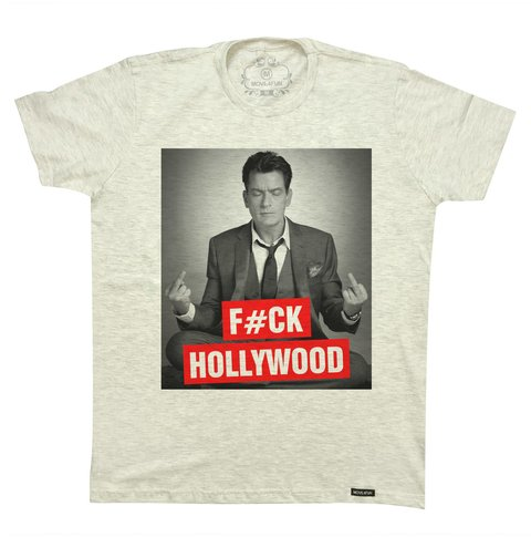 Camiseta Fuck Hollywood na internet