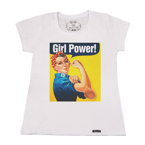 Camiseta Girl power - loja online