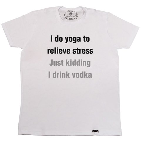 Camiseta I do yoga