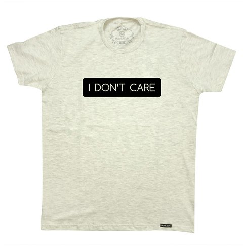 Camiseta I don't care - comprar online