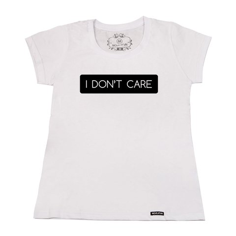 Imagem do Camiseta I don't care