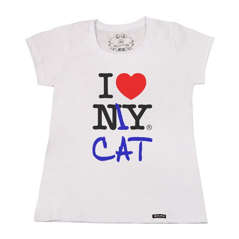 Camiseta I love my cat - loja online