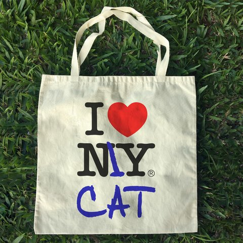 Ecobag I Love my Cat
