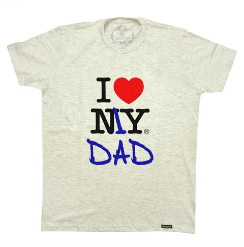 Camiseta I love my dad na internet
