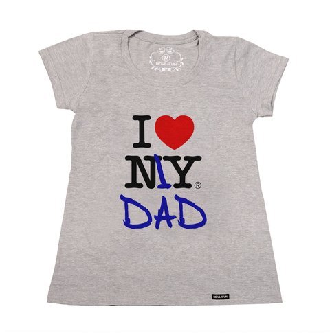Camiseta I love my dad - loja online