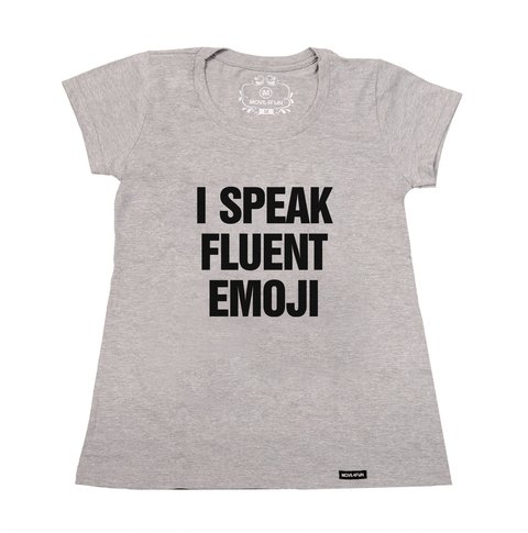 Imagem do Camiseta I speak fluent emoji