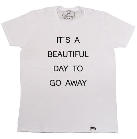 Camiseta It's a beautiful day na internet