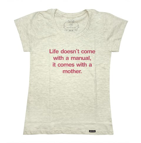 Camiseta Life doesn't come with a manual - loja online
