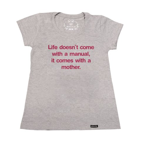 Imagem do Camiseta Life doesn't come with a manual