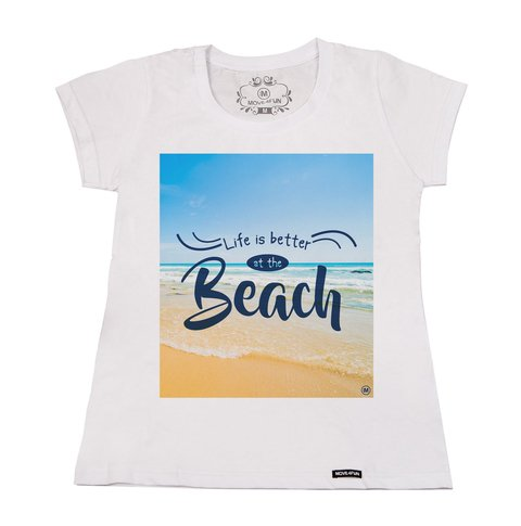 Camiseta Life is better at the beach - comprar online