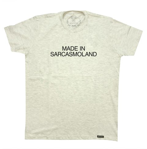 Camiseta Made in sarcasmoland na internet