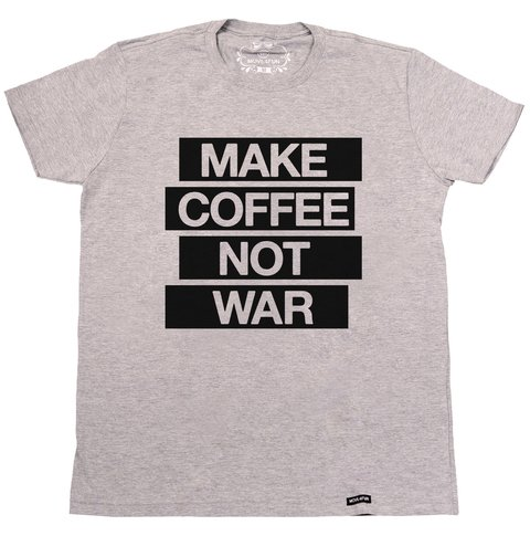 Camiseta Make coffee not war - comprar online