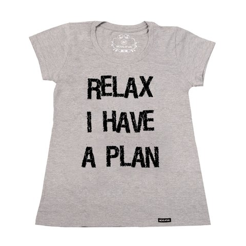 Imagem do Camiseta Relax I have a plan