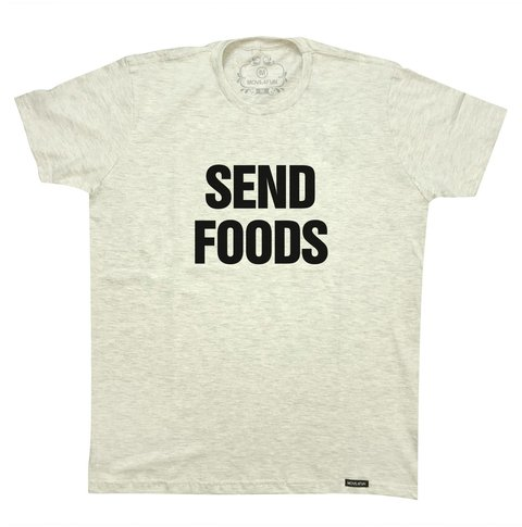 Camiseta Send foods