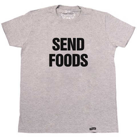 Camiseta Send foods - comprar online