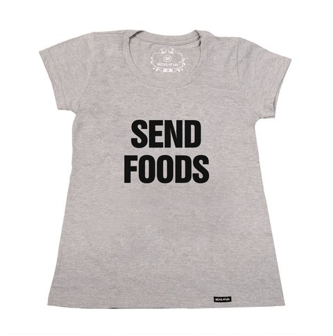 Imagem do Camiseta Send foods