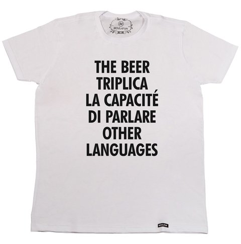 Camiseta The beer na internet