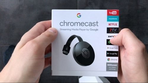 Google Chromecast2 Media Streaming Hdmi Full Hd. Shenron - tienda online