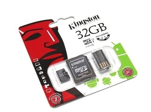 MEMORIA KINGSTON MICRO SD 32 GB + ADAPTADOR