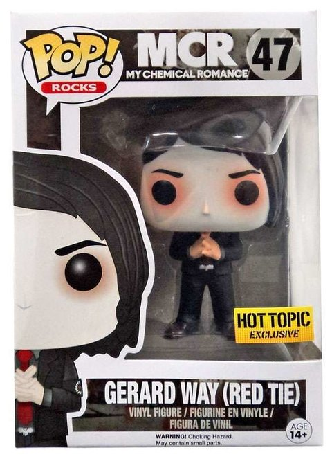 Funko Pop! My Chemical Romance Gerard Way Red Tie