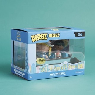Disney Treasures Dorbz Ridez Small World Nº 36 + Brinde - EXCLUSIVO