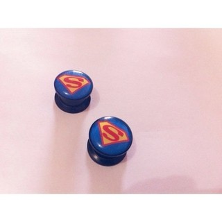 Alargador - Ear Plug SuperMan