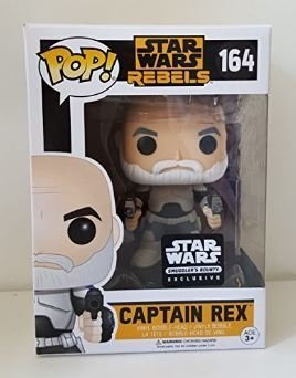 Funko Pop! Star Wars Rebels Capitão Rex - Exclusivo