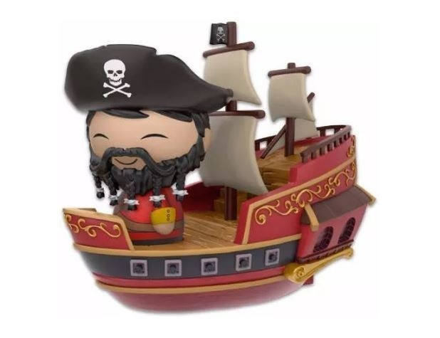Funko Pop! Dorbz Ridez Piratas do Caribe Exclusivo