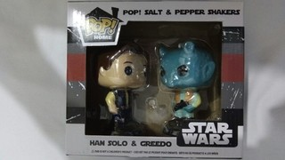 Smuggler's Bounty Funko Pop! Han Solo E Greedo Exclusivo + Brinde