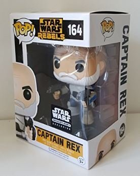 Funko Pop! Star Wars Rebels Capitão Rex - Exclusivo - comprar online