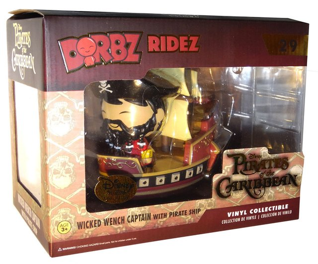 Funko Pop! Dorbz Ridez Piratas do Caribe Exclusivo - comprar online