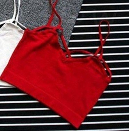 Top Cropped Tiras - Store Cherry