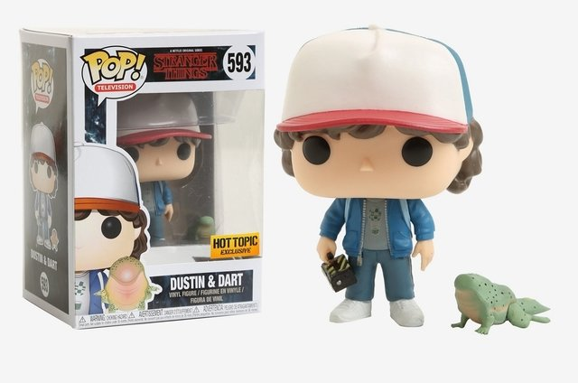 Funko Pop! Stranger Things Dustin with Dart - comprar online