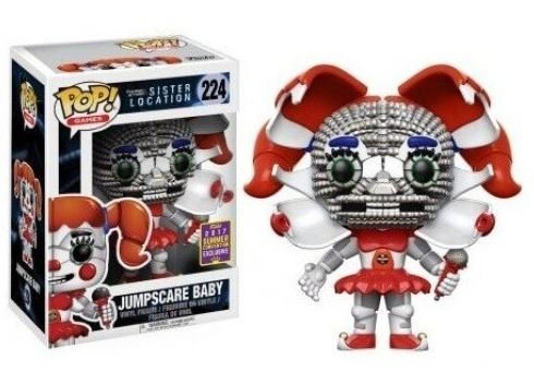 Funko Pop! Sister Location Jumpscare Baby Exclusivo Comic Con - comprar online