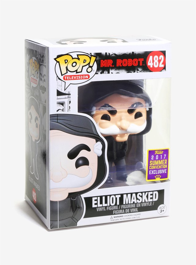 Funko Pop! Mr. Robot Elliot Exclusivo Comic Con - comprar online