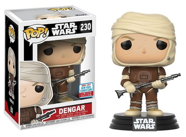 Funko Pop! Star Wars Dengar NYCC - Exclusivo