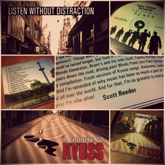 Listen without distraction - Tributo a Kyuss - comprar online