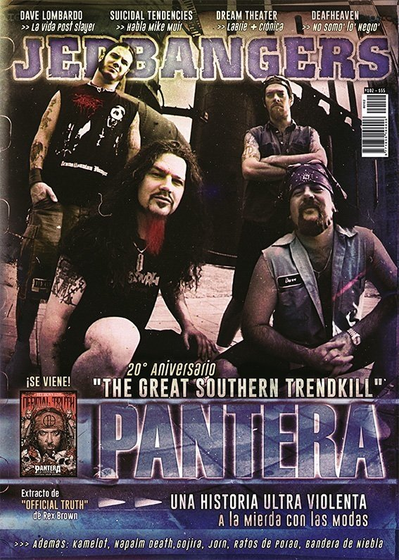 Jedbangers #102 Tapa Pantera: The great southern trendkill - comprar online