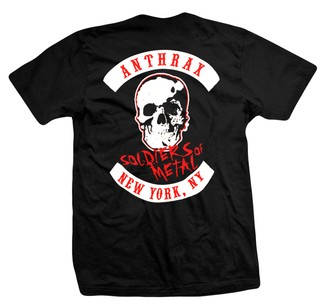 REMERA ANTHRAX - Soldiers Of metal en internet