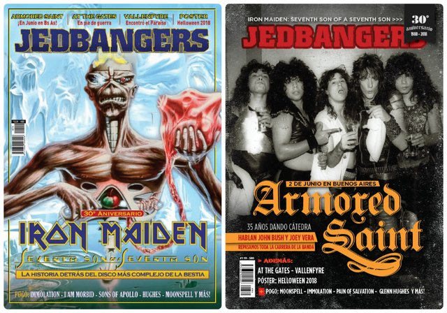 JEDBANGERS 119 (Seventh Son of a Seventh Son - Armored Saint - At the Gates)