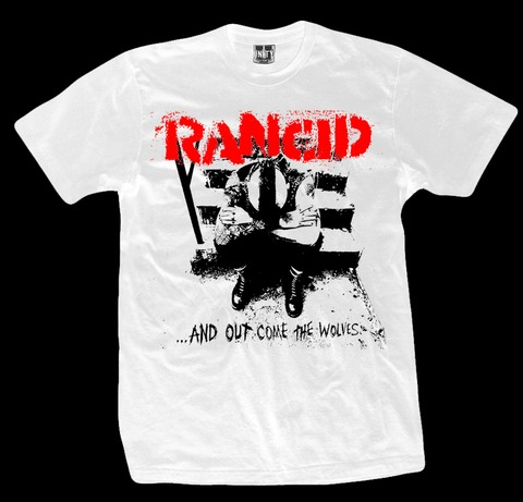 REMERA RANCID Out - Comes The Wolves