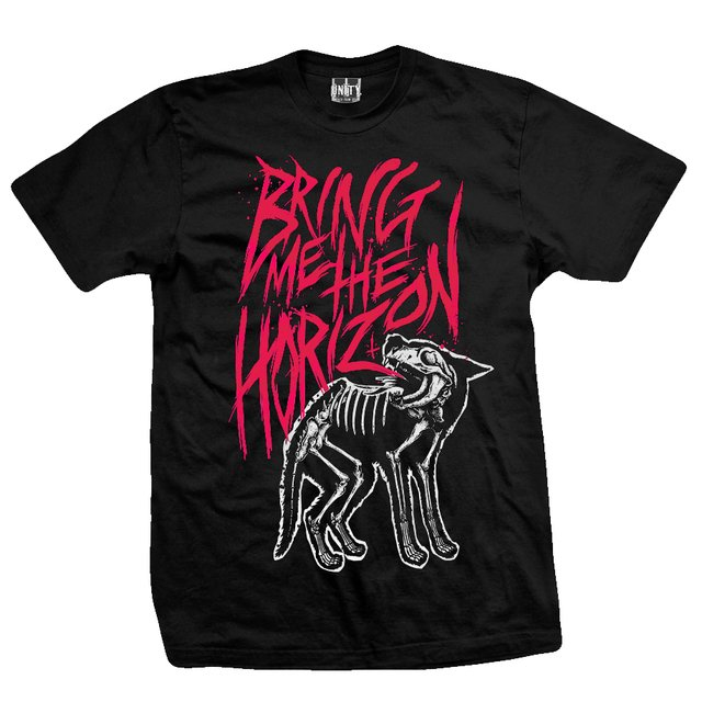 REMERA BRING ME THE HORIZON - Wolf