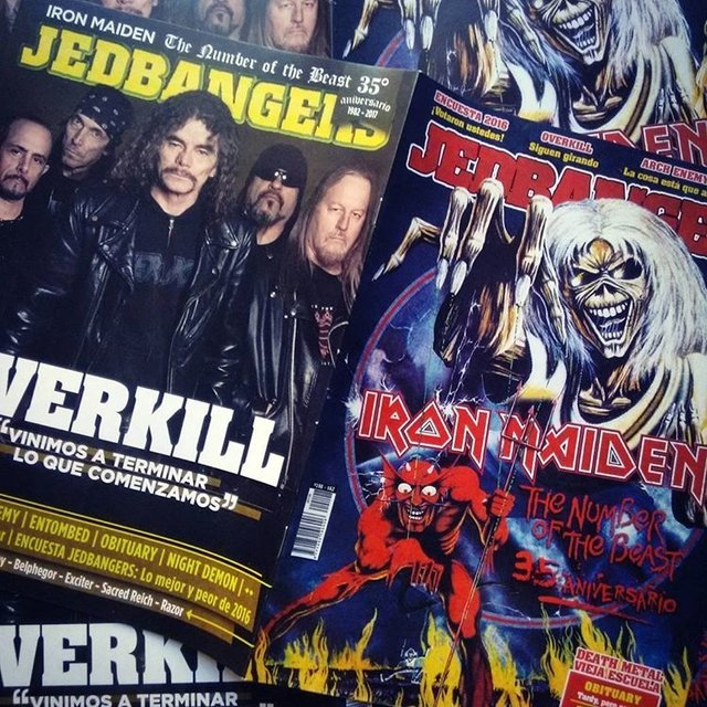 Jedbangers 108 (Iron Maiden Overkill Arch Enemy)