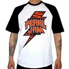 Remera Pearl Jam (Seattle) manga rangla
