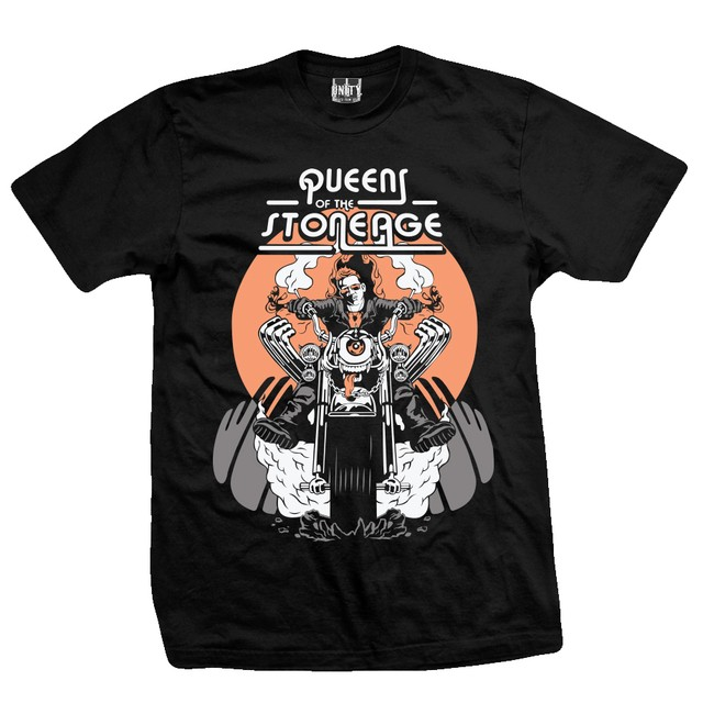 Remera Queens of the Stone Age - Motorcycle
