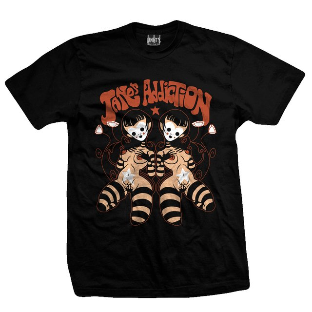 Remera JANES ADDICTION - Dolls